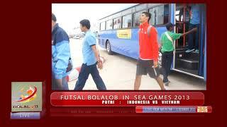 Highlights Futsal Sea Games 2013  Indonesia Vs Malaysia