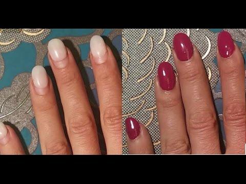 Die Pediküre mit gribkom der Nägel machen