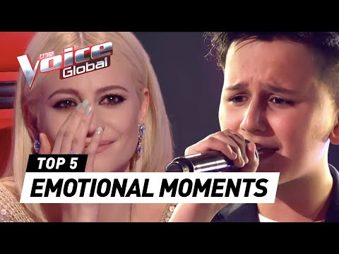 EMOTIONAL performances in The Voice Kids [PART 2]
