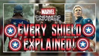 Every MCU Captain America Shield Explained