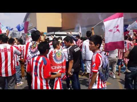 """La Irreverente. Chivas vs Jaguares 2015"" Barra: La Irreverente • Club: Chivas Guadalajara"