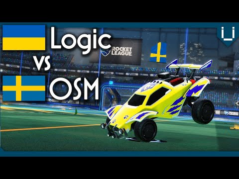 OSM vs Logic (Rank 2 EU) | 1v1 Rocket League