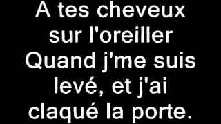 Chromeo - J'ai Claque La Porte lyrics
