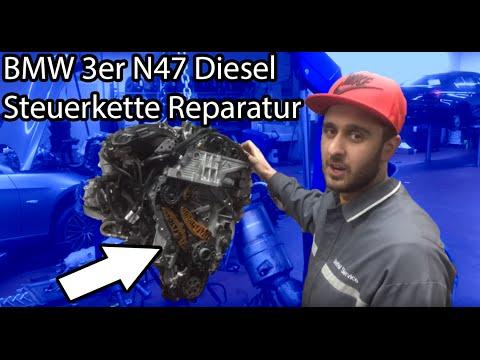 BMW N47 Kette rasselt/schabt/schleift Steuerkette Wechsel/Reparatur/Anleitung/HIlfe/Erklärung