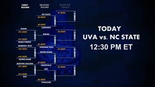 No. 1 Seed UVA Takes on NC State on Day 3 of ACC Tourney