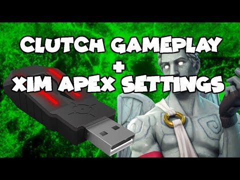 Clutch Gameplay + Xim Apex Settings - Fortnite – NetLab