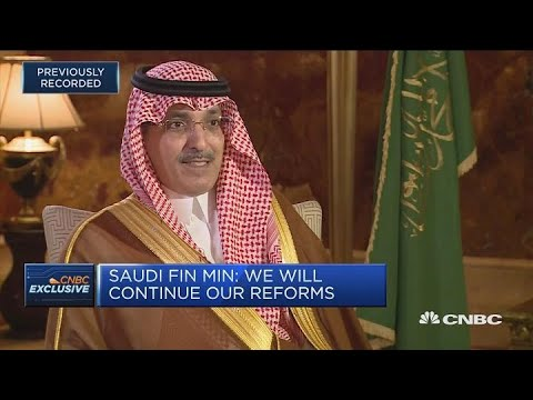 Saudi Finance Minister: There's a lot of excitement about reforms