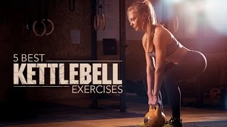 5 Best Kettlebell Exercises (HITS ENTIRE UPPER BODY!!) by Athlean-XX for Women