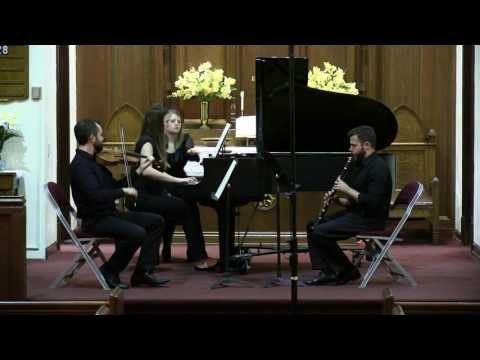 "Mozart ""Kegelstatt"" trio for Clarinet, Viola, and Piano- First movement"