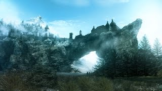 "TES V Skyrim: ""Legendary Edition"" Вилья, три скелета,SFO,Verdant (тест на ультра настройках) №1"