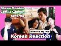 🔥(ENG)/ KOREAN Rappers / react to Shawn Mendes, Camila Cabello - Señorita 💧💧