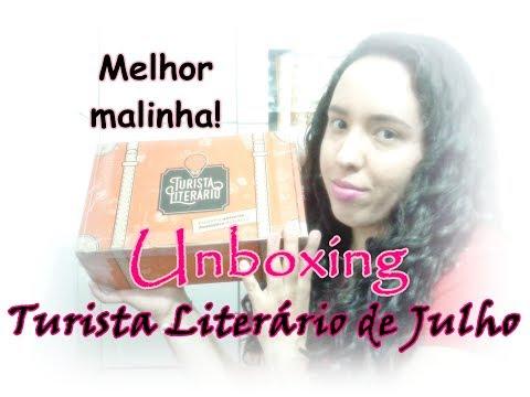 Unboxing Turista Literário de Julho (2017) | Um Livro e Só