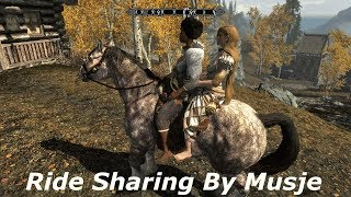 Skyrim SE: Ride Sharing by Musje Mod Demo