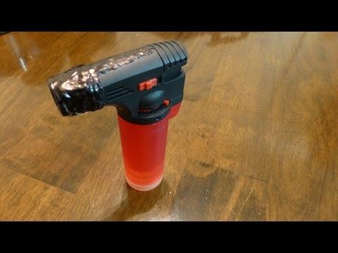 EAGLE TORCH jet lighter RED Transparent