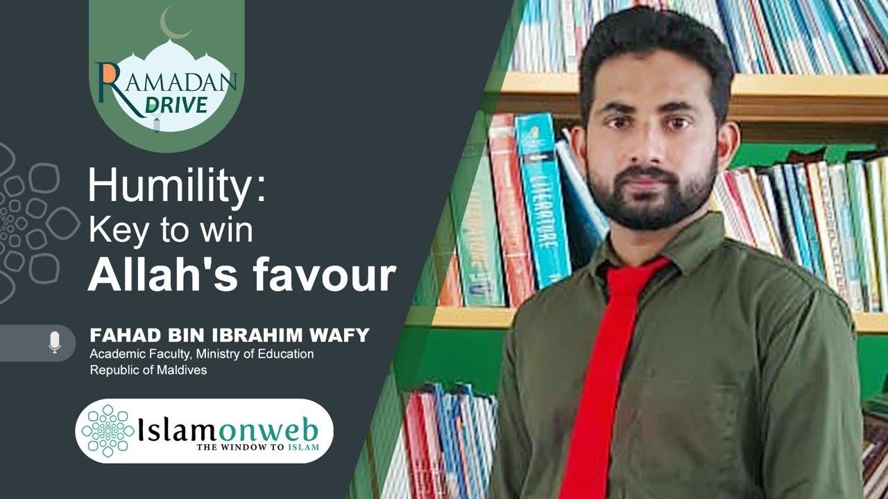 Humility: key to win Allah's favour | Fahad bin Ibrahim wafy | Islamonweb Ramadan Drive Day 06