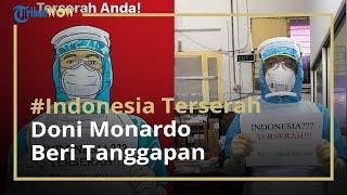 Tagar Indonesia Terserah Viral di Media Sosial, Doni Monardo: Kita Tidak Berharap Dokter Kecewa