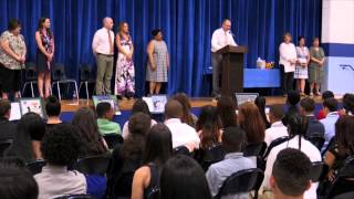 Frost MIddle School Promotion 2015
