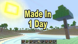 I Made Minecraft in 24 Hours!
