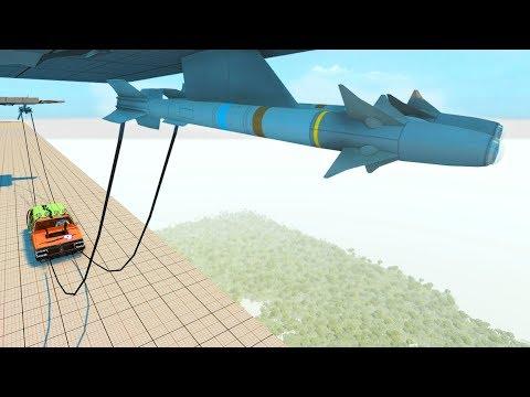 Rocket Ride Crashes #7 (Tug of War) - BeamNG Drive