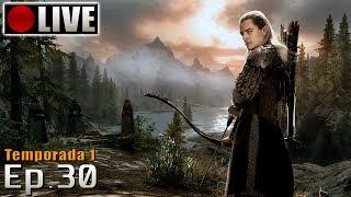 SKYRIM - Legolas Role Play! (PC - Mods - PTBR) Temporada 1 - Ep.30