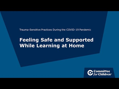 Trauma-Sensitive Practices During the COVID-19 Pandemic ...
