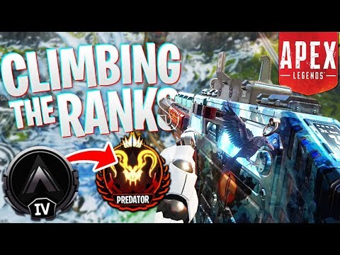 Climbing the Ranks! - PS4 Apex Legends Road to Apex Predator Rank