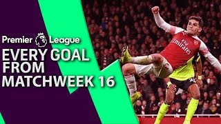 Every goal from Premier League Matchweek 16   NBC Sports