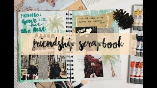 Friendship Scrapbook Tumblr DIY Tutorial