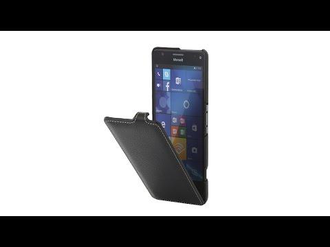 Lumia 950 XL Hülle UltraSlim aus Leder von StilGut