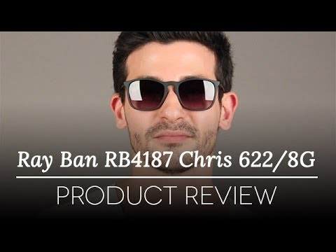 Ray-Ban RB4187 Chris 622/8G Sunglasses Review