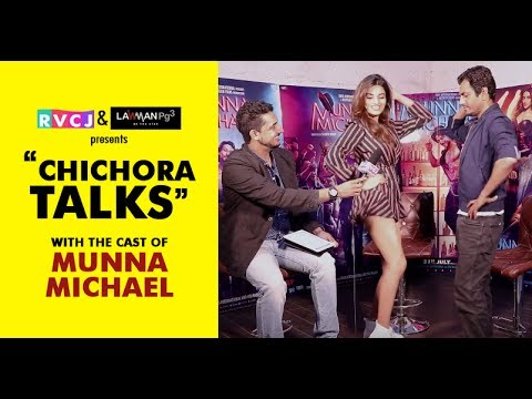 Chichora Talks With The Cast of Munna Michael | Nawazuddin | Niddhi Agerwal | RVCJ Exclusive