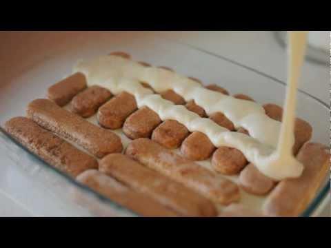Видеорецепт приготовления десерта Tiramisù