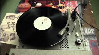 """ZZ Top - """"Waitin' for the bus/Jesus just left Chicago"""" on tube record player"""