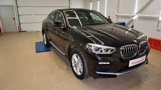 BMW X4, бронирование лобового стекла защитной пленкой