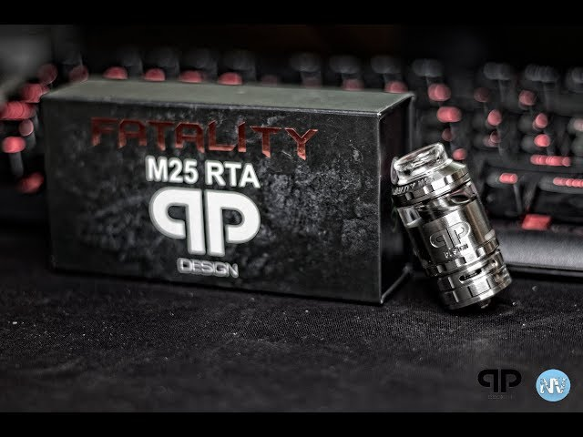 QP Design, Fatality M25 RTA - Review and Wicking Tutorial