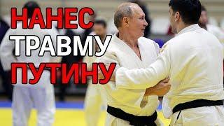 Владимир Путин повредил палец во время тренировки по дзюдо