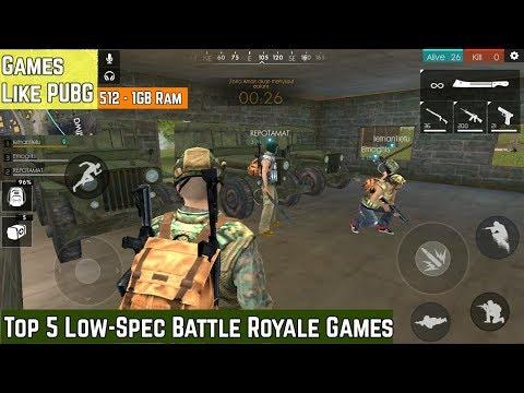 Top 5 games like PUBG under 300mb - смотреть онлайн на Hah Life