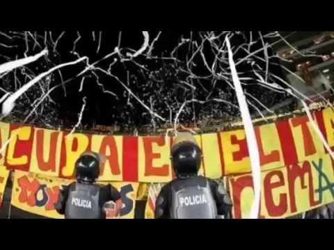 """""""locura 81 alentando vs los pitufos"""" Barra: Locura 81 • Club: Monarcas Morelia"""