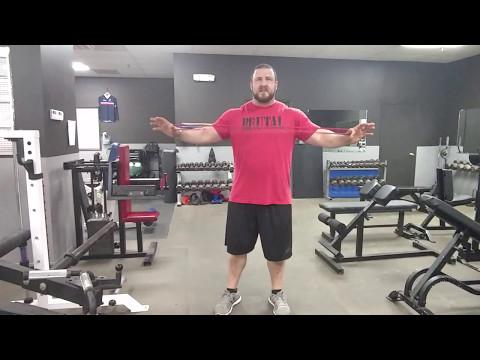 Brutal Iron Gym - Correcting Diastasis Recti - Pallof Rotations into Holds (see description)