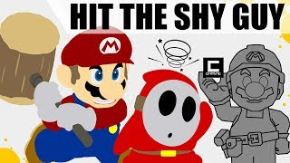 """Mushroom Detection Contraptions in Super Mario Maker or """"Don't be a Shy Guy! """""""