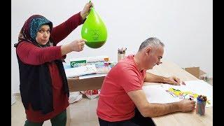 COCA Cola BALLOON in PRANK! ONLY BALLOON COCA COLA hair KEREM