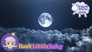 Baby Songs To Sleep ★ All The Pretty Little Horses Lyrics ★ Hush Little Baby Lullaby Music
