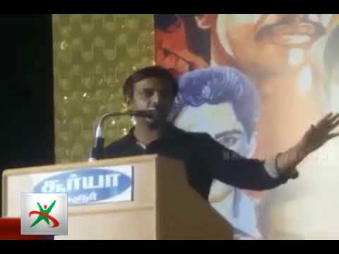 What is the mother tongue of Thirumurugan Gandhi?