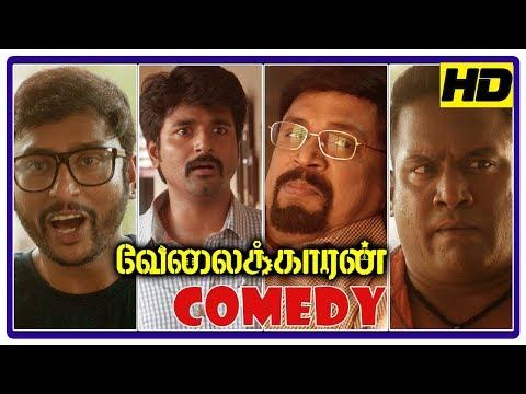 Velaikkaran Comedy Scenes | Latest Tamil Comedy Scenes | Sivakarthikeyan | RJ Balaji | Robo Shankar