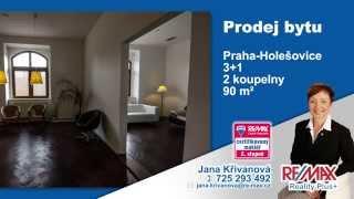 Prodej bytu 3+1 v Praze-Holešovicích - RE/MAX Reality Plus+