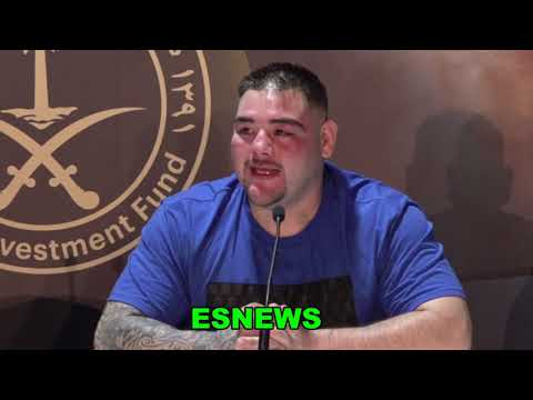 Andy Ruiz Says Sorry To His Coach And Says Trained Himself EsNews Boxing