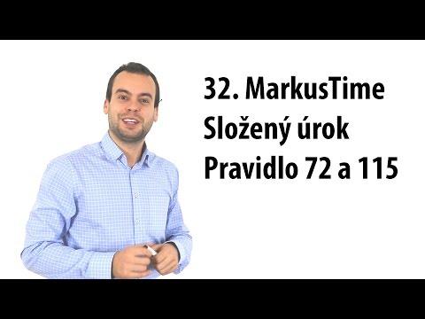 32. MT: Složený úrok, pravidlo 72 a 115