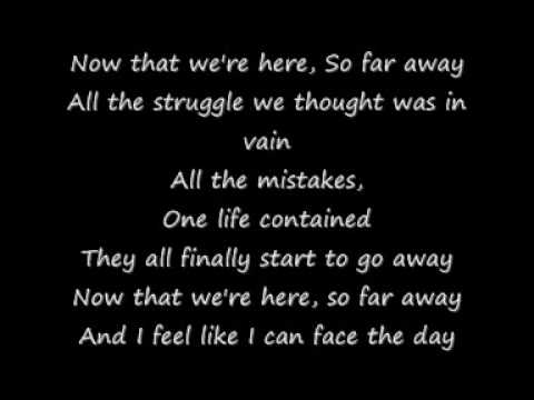 So Far Away — Staind   Last.fm