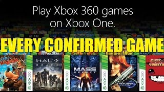 Every Xbox One Backwards Compatible Game | OLD | Gaming By Gamers