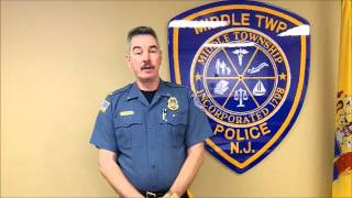 preview picture of video 'Middle Township Police Lt. Christopher Murphy's retirement'